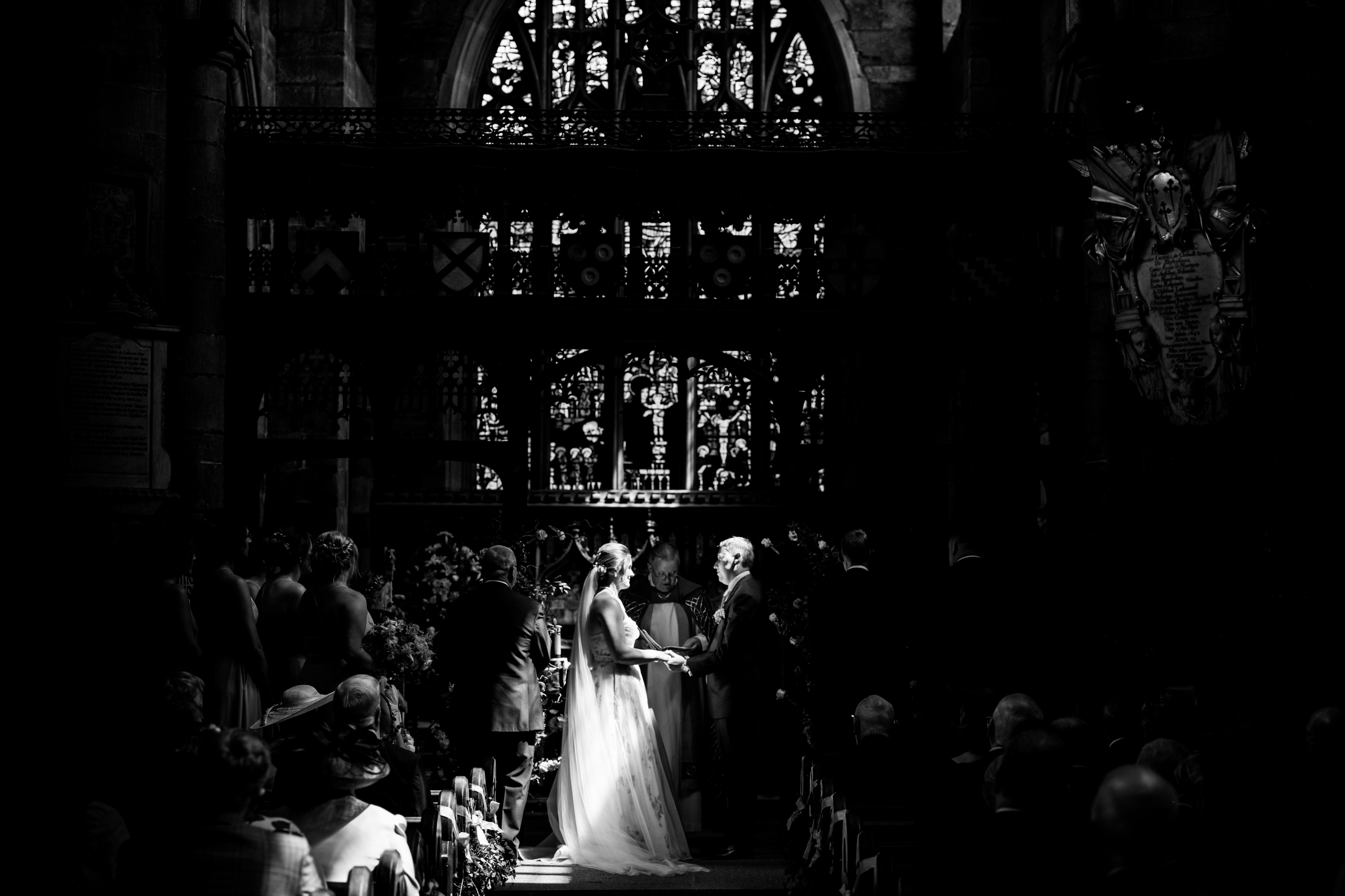 I do take thee, Church Wedding Photography Standish
