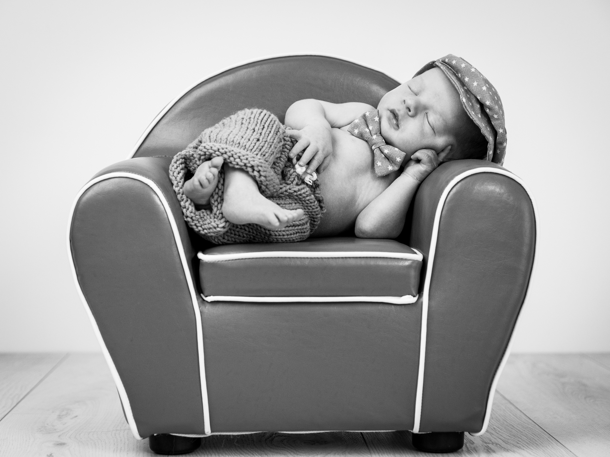Baby on Chair asleep
