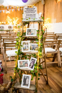 Memory Ladder to honor the deceased family members